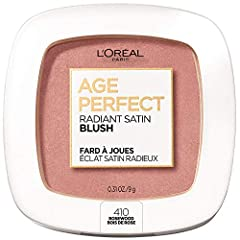 AGE PERFECT RADIANT SATIN BLUSH: This blush is specially formulated for mature skin. Made with Camellia Oil, this creamy satin blush instantly gives cheeks a healthy, radiant color. EFFORTLESS APPLICATION: The unique creamy formula applies effortless...
