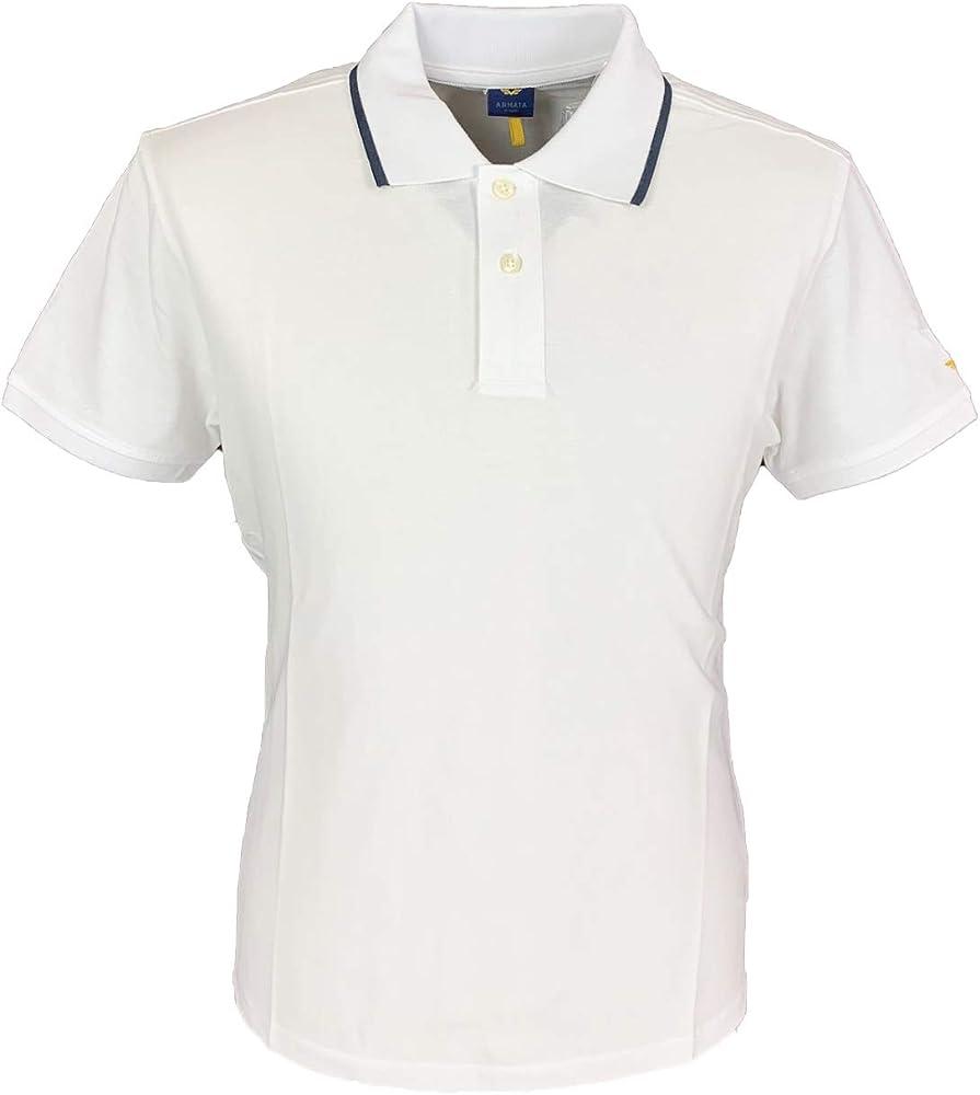 Armata di mare polo, maglietta a manica corta , 100 % cotone, bianca 5352994C