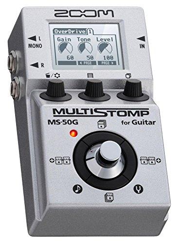 Zoom MS50G - Multiefecto para guitarra