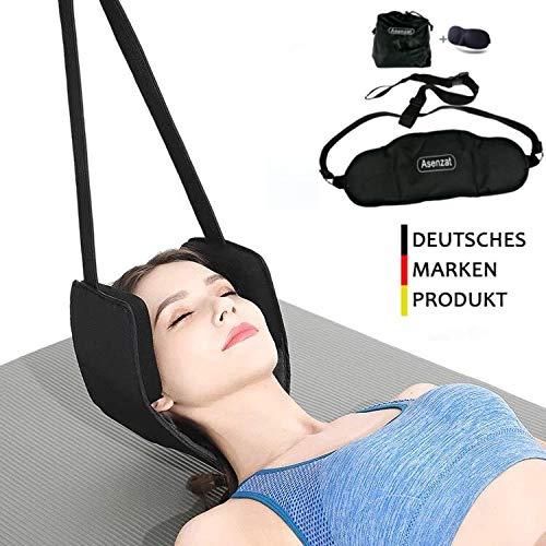 Asenzat Hals Hängematte Bessere Hals Relax Tragbare Nackenmassagegerät Schmerzlinderung Kopf Nacken Massagegerät Für Männer Frauen
