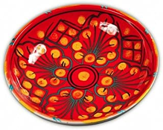 Hand Painted Tramonto Soup Plate From Italy