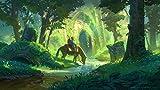 199Tdfc 1000 Piezas,Bosque De Zelda,Adulto Puzzle,De Madera Rompecabezas,Juguetes Educativos Niño Aprendizaje Temprano Juguete Regalo