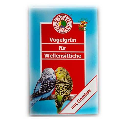 Rosenlöcher- Vogelgrün 8g