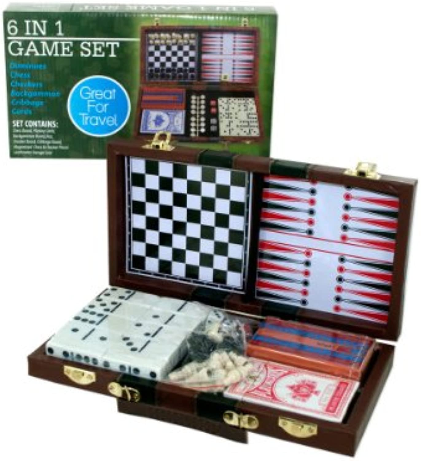 6 in 1 Travel Game, Case of 3