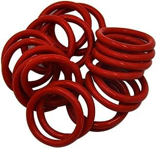 Set di Ricambio per 12AX7 12AU7 12AT7 12BH7 EL84 Tubo Anelli Damper Silicone Resistente Silicone O-Ring heacker 20PCS
