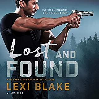 Lost and Found     Masters and Mercenaries: The Forgotten, Book 2              Written by:                                                                                                                                 Lexi Blake                               Narrated by:                                                                                                                                 Ryan West                      Length: 14 hrs and 1 min     1 rating     Overall 5.0