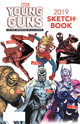 Young Guns Sketchbook (2019) #1 (Marvel Previews) (English Edition)
