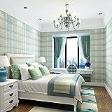 Papel pintado de dormitorio no tejido estilo inglés vintage Vintage Tea Tea Shop Tienda de ropa Decoración Papel pintado de pared B