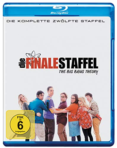 Cover The Big Bang Theory - Staffel 12 [Blu-ray]
