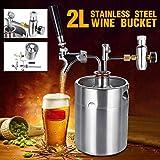 SHIJING Distributeur de bière de bière Artisanale de bière de vin Durable de 2L...