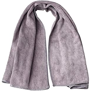 Customer reviews kuou Sports Towel, Fast Dry Microfibre Towel Cooling Sports Gym Towel Beach Towel For Travel Golf Yoga Swimming Camping Grey:Warezcrack