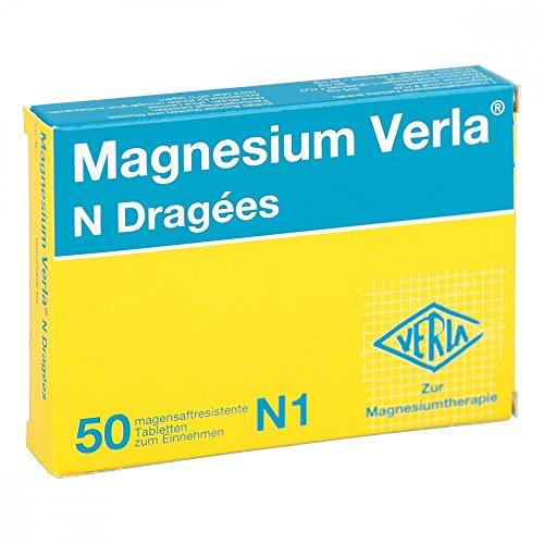 MAGNESIUM VERLA N Dragees 50 St