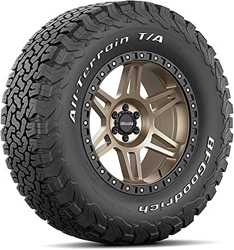 BFGoodrich All Terrain T/A KO2 Radial Car Tire for Light Trucks, SUVs, and Crossovers, LT245/75R16/E 120/116S