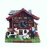 Weekino Reloj cucú Suiza Imán de Nevera 3D Resina de la Ciudad de Viaje Recuerdo...