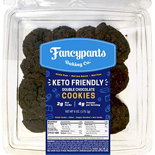 (20% OFF Coupon) Keto Friendly Double Chocolate Cookies 3-Pk $19.88