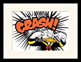 Pyramid International Donald Duck (Crash) 30x40 cm montiert