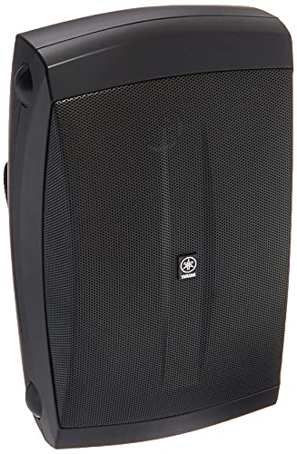 Yamaha NS-AW150BL 2-Way Indoor/Outdoor Speakers (Pair, Black) - Wired...