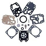 HAISHINE Kit di Riparazione carburatore per Echo SRM260 SRM2601 SRM261 SRM2400 330 GX25 GX35 HHB25 HHH25 Trimmer