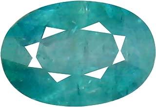 Deluxe Gems 0.40 ct Oval Cut (6 x 4 mm) Unheated/Untreated Greenish Blue Grandidierite Natural Gemstone