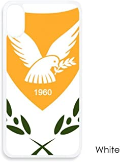Cyprus National Emblem Country for iPhone XS Cases White Phonecase Apple Cover Case Gift