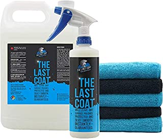 The Last Coat (TLC): Car Polish w/ Microfiber Towels - 16oz/1Gal - Fast-Acting Spray Formula - DIY for Professional Shine - Can Protect Surfaces for Up to 6 Months- Multi-Surface Solution- Monster Kit