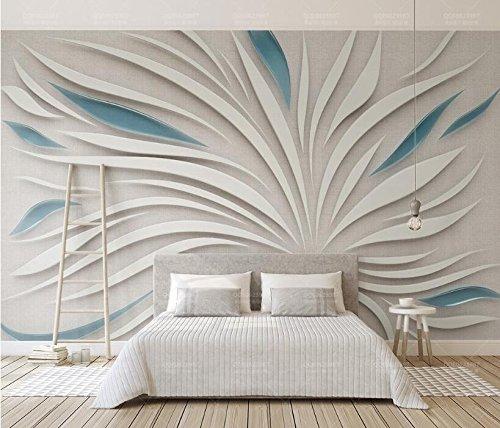 Yosot woonkamer behang 3D abstract bloemblad bloemen zijde doek op maat gemaakte foto muurschildering 3D behang 250cmx175cm