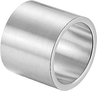 mens chunky silver ring