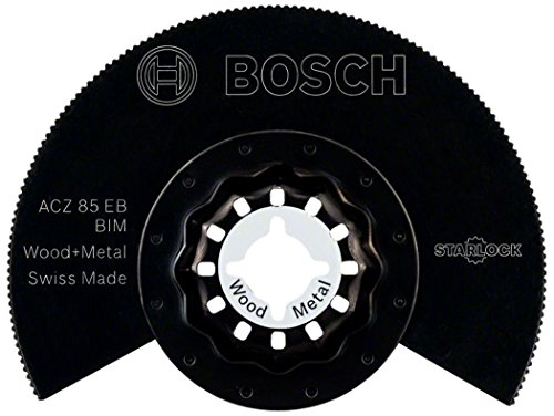 Bosch Segementsägeblatt Holz und Metall für Multifunktionswerkzeuge Starlock (ACZ 85 EB BIM)