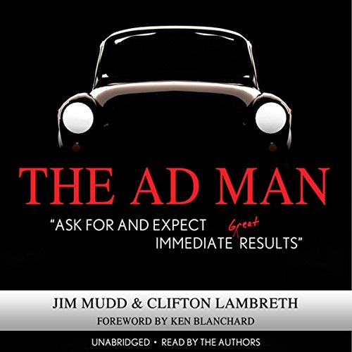The Ad Man audiobook cover art