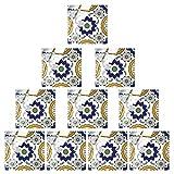 non-branded Diy Pegatinas de Azulejos Cuadrados Calcomanías de Azulejos de Pared Adhesivos de...