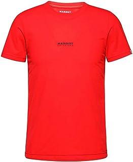 [マムート] Tシャツ 半袖 QD ロゴ プリント T-Shirt AF Men 1017-02011 3621 spicy PRT1 S(EU-XS)