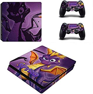 KALINDA MODI PS4 Slim Unique Skin Decal Stickers Set for PlayStation Console Controllers Anime HD Printing