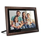 AEEZO WiFi Digital Picture Frame 13.3 Inch HD Touch Screen Smart Large Photo Frame with 16GB Storage, Motion Sensor, Auto-Rotate, Remote Control, Easy Setup to Share Photos and Videos via AiMOR APP