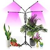 Dkdnjsk 80 Piano LED Grow Light per piante da interno con spettro blu rosso e misto, coltivare luci con supporto, lampade a crescita delle piante con 10 livelli dimmerabili, timer 3/9 / 12h, 3 modalit