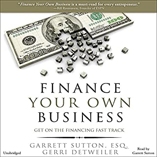 Finance Your Own Business audiobook cover art