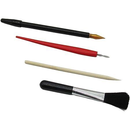 PandaHall 22 St/ück Scratch Painting Tools Dual Scratch Malstifte Bamboo Sticks Kleine Schaber Clean Brushes F/ür Scratch Paper Art Paint DIY