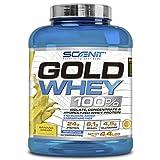 Gold Whey 100% | Mezcla de proteína de suero de leche aislada, concentrada e hidrolizada | Proteína en polvo con aminoácidos para el desarrollo muscular | 2 kg (Banana)