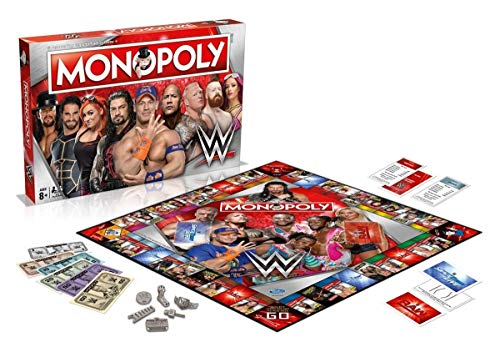 Winning Moves Monopoly-Brettspiele, Special Edition TV & Film (evtl. Nicht in Deutscher Sprache)