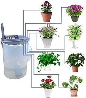 Yardeen Micro Sistema de riego por goteo automático de riego, controlador de rociador, color gris