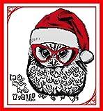 J-Love Búho Navidad Awesocrafts Patrones fáciles Kit Bordado...