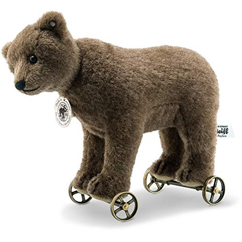 Steiff '1904 Replica Bear On Wheels' Teddy Bear - Limited Edition - 403354 - BNIB