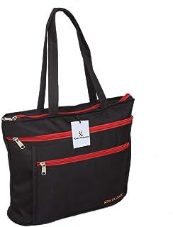 Kuber Industries Canvas Tote Handbag ( Multicolour, KI19093)