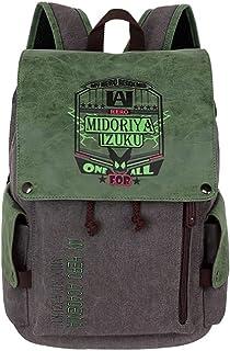Hoohoog My Hero Academia School Bag Laptop Bag Backpack