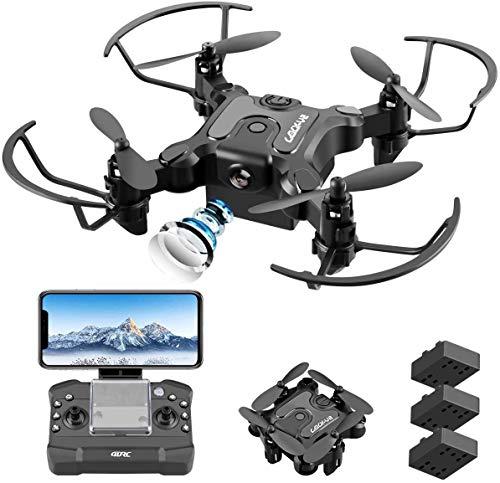 4DRC V2 Drone con Telecamera 720P HD WiFi FPV, Traiettoria di Volo, 3D Filp, modalità Senza Testa, modalità Hovering, Adatto ai Principianti e Bambini