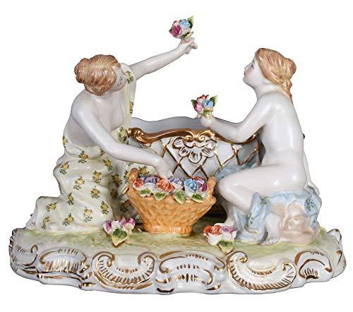 Antik Schale Porzellanschale Figuren Jardiniere Barock Porzellanfigur Palazzo Exclusiv