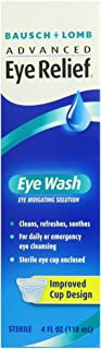 Bausch & Lomb Advanced Eye Relief Eye Wash 4 oz (Pack of 5)
