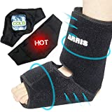 Ice Pack for Ankle Injuries, Foot & Ankle Heel Ice Pack for Sprained Ankle, Achilles Tendon Injuries, Plantar Fasciitis, Bursitis & Sore Feet - Ankle Heel Ice Wrap for Ankle Pain Relieve - ARRIS