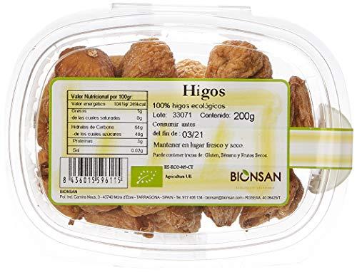 Bionsan Biogoret Higos - 4 Paquetes de 200 gr - Total: 800 g