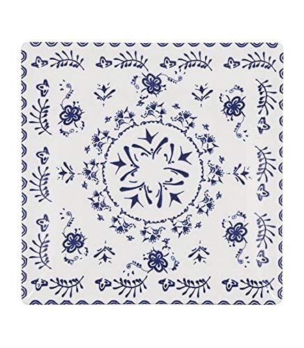 LA Mediterranea 145841 Plato para Postre Blur, Multicolor, 18 cm, 6 Piezas