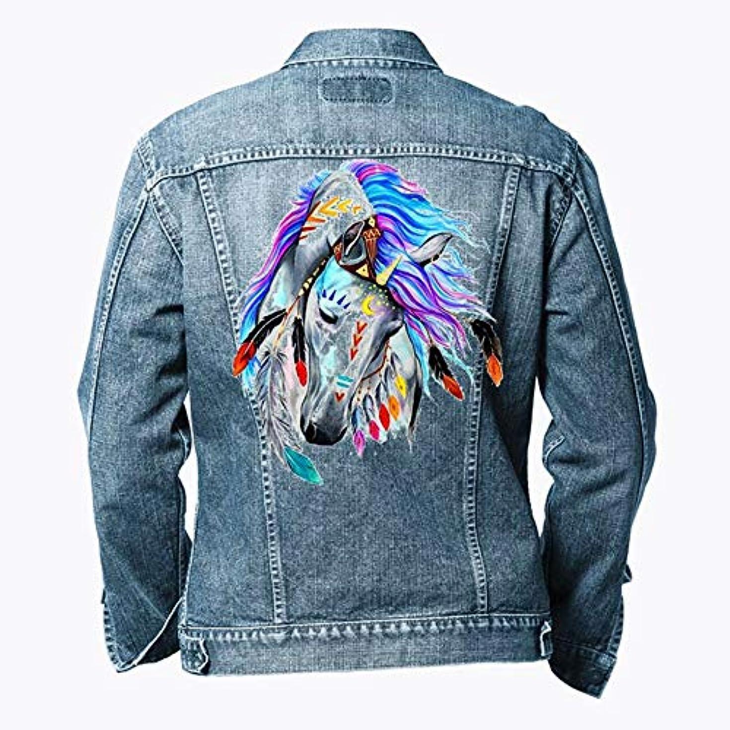 貼り直す機密高い衣料用熱転写サーマルステッカーDIY装飾Tシャツ用アップリケウォッシャブルパッチ